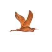 lasterne les oiseaux en vovodu heron 60 cm bhe060 2