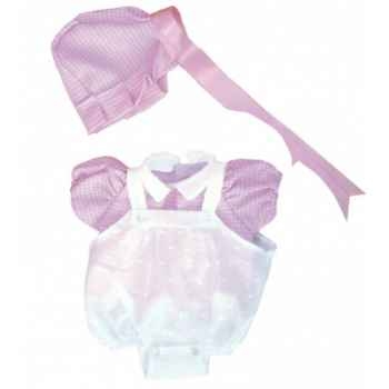 Vêtement petit ange pour poupée 25cm Petitcollin 502515