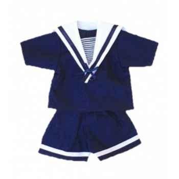 Vêtement marin pour poupée 40cm Petitcollin 504012