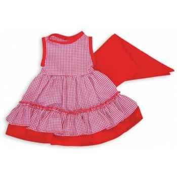 Vêtement cÔte basque pour poupée 40cm Petitcollin 504092