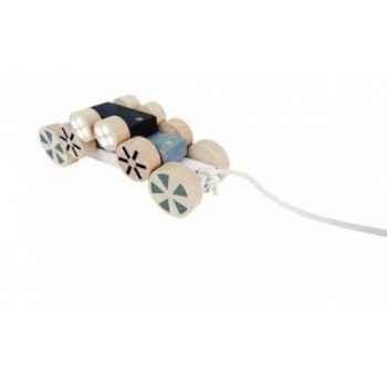 Chariot de marche jaune - Jouet Vilac 1010