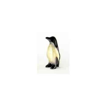 Lasterne-Miniature à poser-Le pingouin à l\'arrêt - 27 cm - PI27-1R