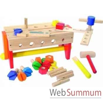 Etabli boîte à outils réversible - Jouet Vilac 2142