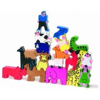 Personnages et animaux à empiler - Jouet Vilac 2172