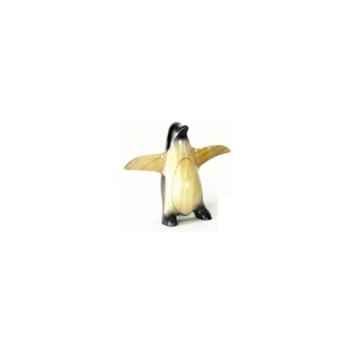 Lasterne-Miniature à poser-Le pingouin en marche - 27 cm - PI27-2R