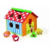 boite a formes ferme jouet vilac 2475