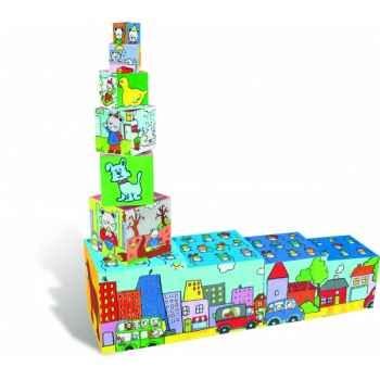 Cubes gigognes-puzzles - Jouet Vilac 2499