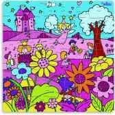 puzzle 49 pces princesse en boite forme jouet vilac 2532
