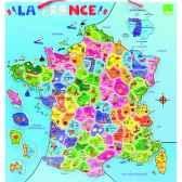 carte de france magnetique jouet vilac 2582