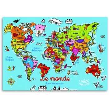 Carte du monde magnétique - Jouet Vilac 2583