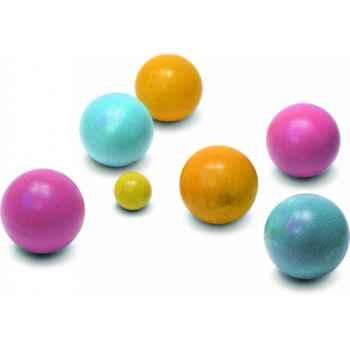 Sac de pétanque 6 boules - Jouet Vilac 4054