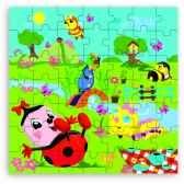 puzzle 49 pces ddpb en boite forme jouet vilac 5406