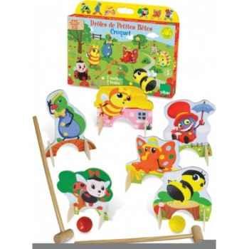 Croquet drôles de petites bêtes - Jouet Vilac 5431
