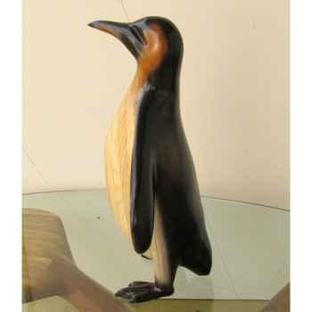 Lasterne-Ornementale-Le pingouin en arrêt - 60 cm - OPI060P