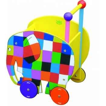 Chariot de marche elmer - Jouet Vilac 5907