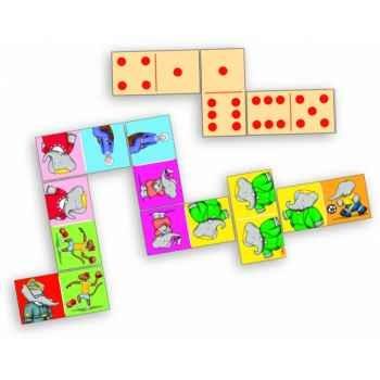 Domino géant babar - Jouet Vilac 6024