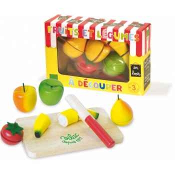 Fruits et légumes à découper - Jouet Vilac 6149