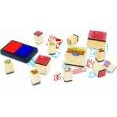 coffret ferme a imprimer jouet vilac 6166
