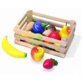 caissette fruits et legumes jouet vilac 6168