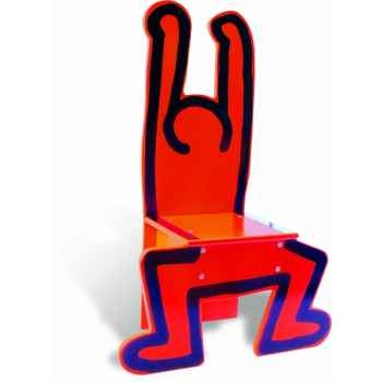 Chaise rouge keith haring - Jouet Vilac 9295