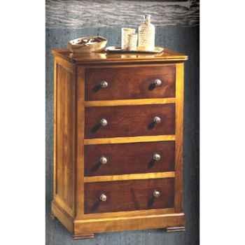 Commode Marrine, 4 tiroirs, époque 19ème, 63 x 93,5 x 48 cm - MA-400