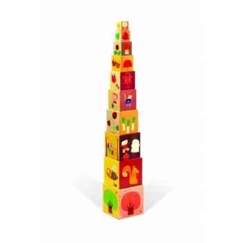 Pyramide carrée les 4 saisons Janod J02917
