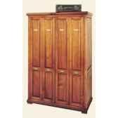 armoire penderie avec portes accordeon epoque fin 19eme sans patine 114 x 173 x 57 cm li 133pe