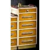 meuble de pont petit modele avec patine epoque 19eme 50 x 101 x 42 cm ca 004pc