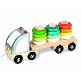 Camion multi color Janod J05596