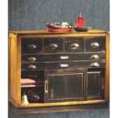 meuble de coursive haut avec patine epoque 19eme 100 x 91 x 40 cm co 081pc