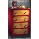 meuble de cabine facade 4 tiroirs sans patine epoque 19eme 59 x 935 x 46 cm ca 400