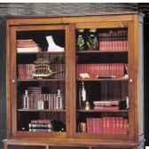 vitrine marrine 2 portes coullissantes epoque 19eme 166 x 150 x 38 cm ma 072