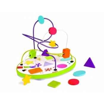 Looping puzzle formes et couleurs Janod J08092