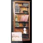 bibus restauration epoque 19eme avec porte etiquettes 5 tablettes 80 x 180 x 25 cm re 039a