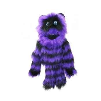 Marionnette Monstre violet et noir -PC007706 The Puppet Company
