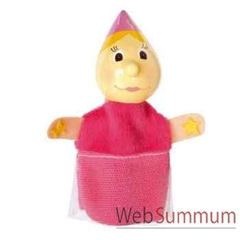 Marionnettes à doigt personnage fee rose animascena 19793