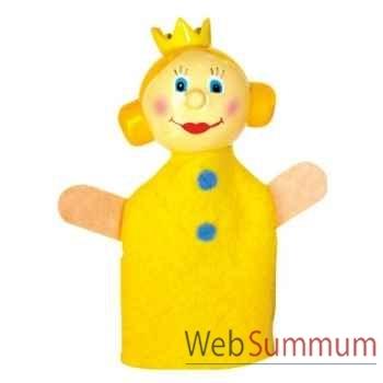 Marionnettes à doigt personnage princesse jaune animascena 19823