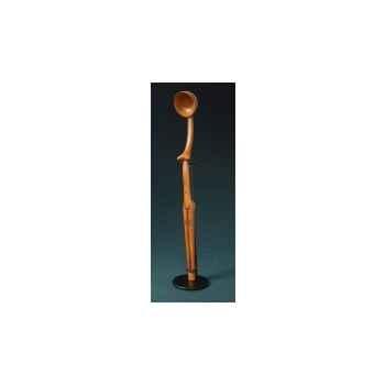 Figurine art mouseion afr zoulou spoon 35cm  afr02 3dMouseion
