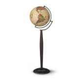 globe prestige sylvia modele marco polo globe geographique lumineux cartographie de type antique reactualisee diam 3