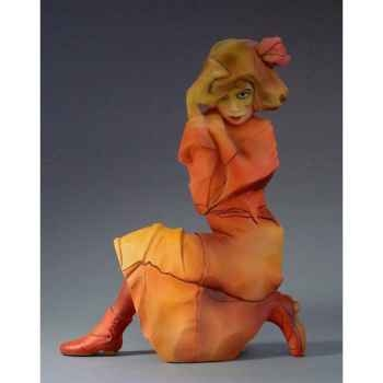 Figurine art mouseion tri col horse white  ch02 3dMouseion