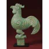 figurine art mouseion shang dynasty rooster ch04 3dmouseion