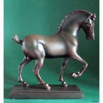 Figurine art mouseion da vinci horse  dav02 3dMouseion