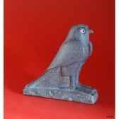 figurine art mouseion egytian falcon eg05 3dmouseion