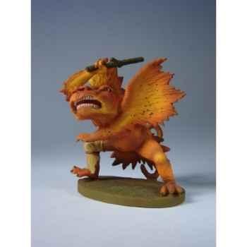 Figurine art mouseion gruenewald monster met knuppel  gr02 3dMouseion