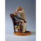 figurine art mouseion daumier dentist hd01 3dmouseion