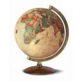 globe de bureau antiquus globe geographique lumineux cartographie de type antique reactualisee diam 30 cm hauteur 38