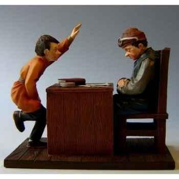 Figurine art mouseion daumier professeur hd08 3dMouseion