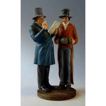 Figurine art mouseion daumier l'huissier  hd09 3dMouseion