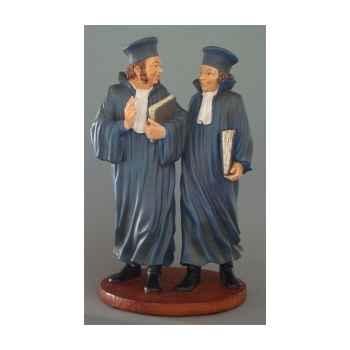 Figurine art mouseion daumier avocats 25cm  hd10 3dMouseion