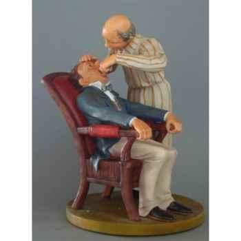Figurine art mouseion daumier dentiste 22cm  hd11 3dMouseion